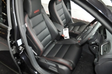 VW Golf Before Leather after Leather